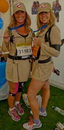Jasmin Boyes and Samantha McVey