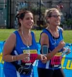 Sarah Lambert and Emma Krzyz of Team Salvo