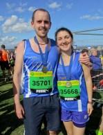 Ben Upex and Lorna Owen