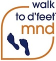 walk to d'feet MND logo