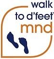 walk to d'feet MND logo
