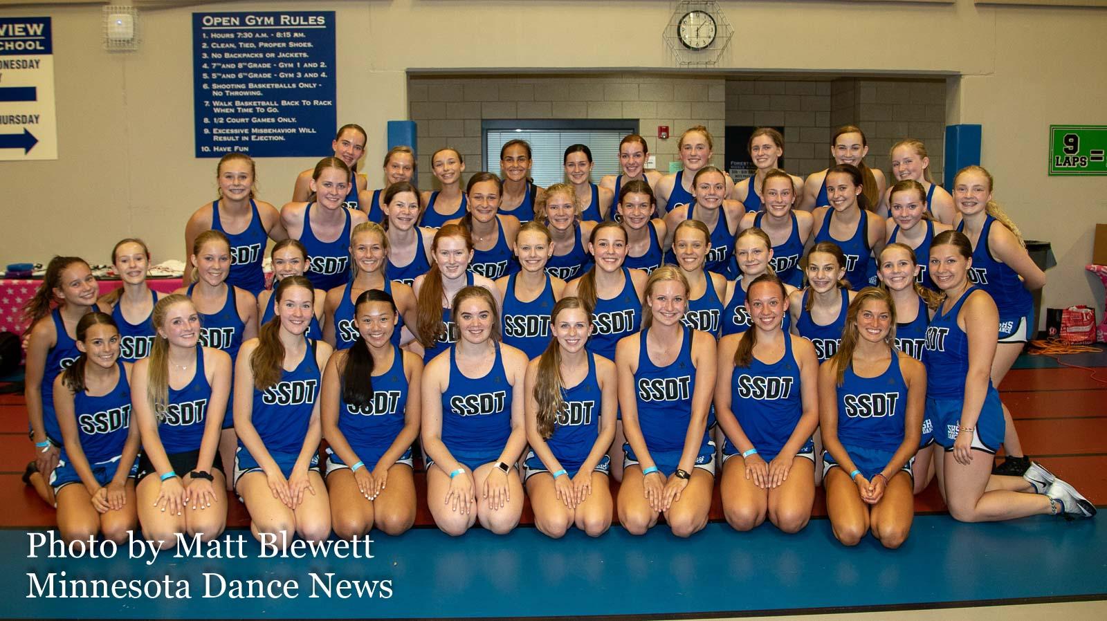 Sartell Dance Team 2018-19  Photo by Matt Blewett | MN Dance