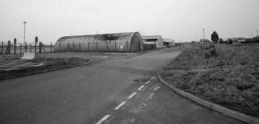 Disused WW2 nissen huts