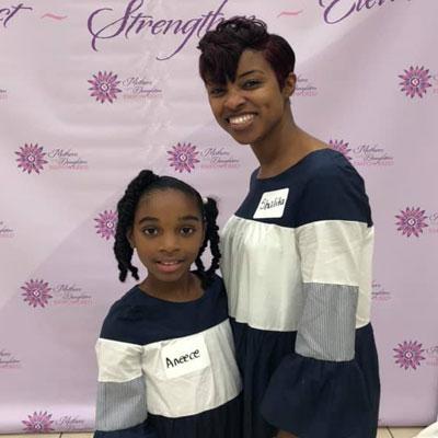Shalita Davis and daughter Aneece | MNDEmpowered.com