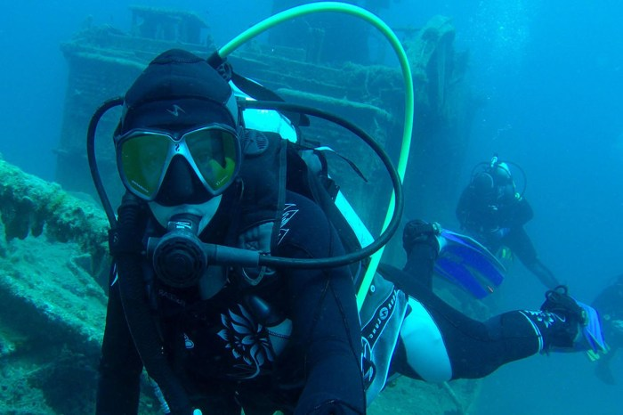 Diving: Into the depths of the hidden regions