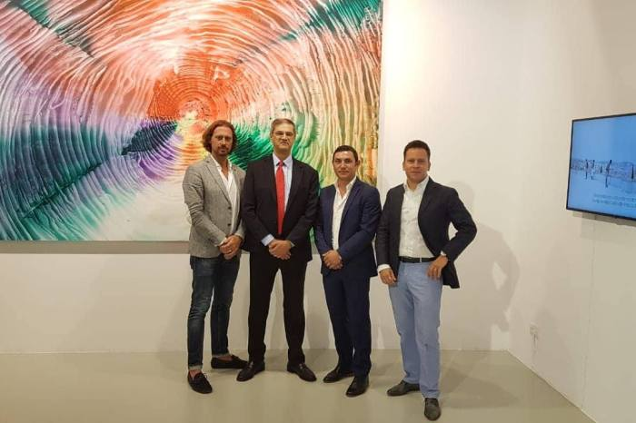 MC2 Contemporary Art opened new gallery space in Lustica Bay