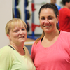 Steph and Vikki - Gym Members