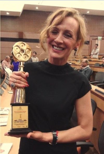 Nagrada za najbolju glumicu uručena joj je i u Nju Delhiju