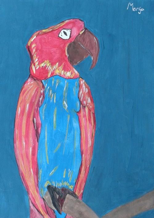 Prva samostalna izlozba Marije Pralas
