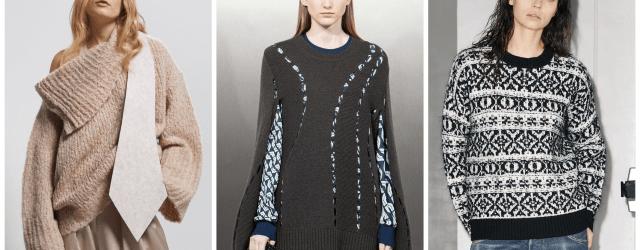 Модные женские свитеры осень-зима 2021-2022