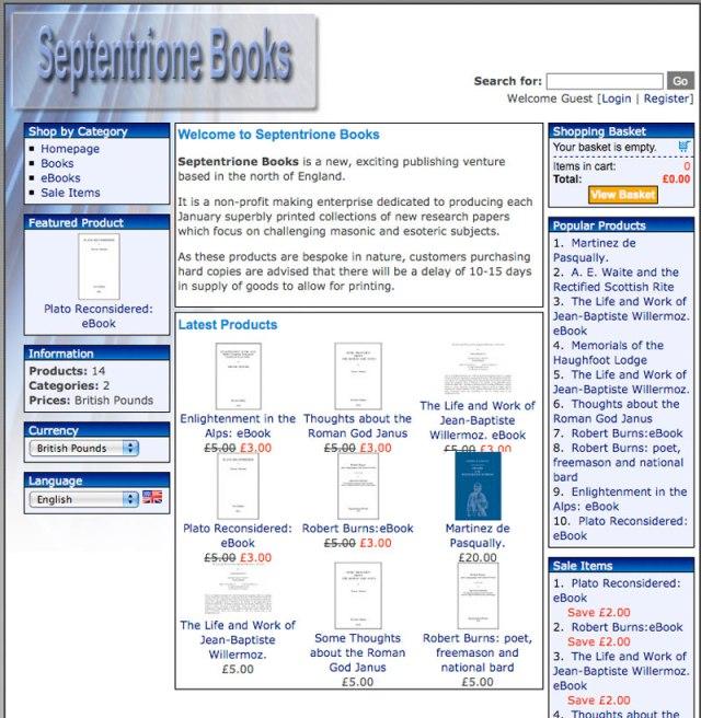 Septentrione Books