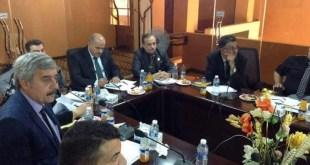 لسيد العميد يشارك في اجتماع عمداء كليات الإدارة والاقتصاد
