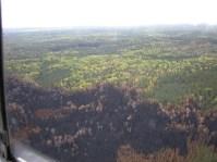 pagami aerial burned area