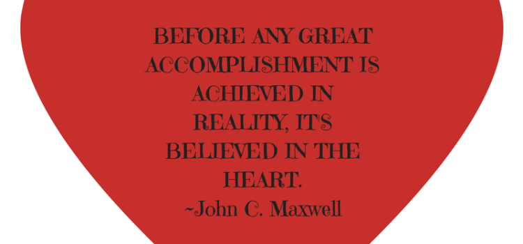 Before any great accomplishment is achieved in reality…