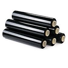Black Stretch Pallet Wrap Film