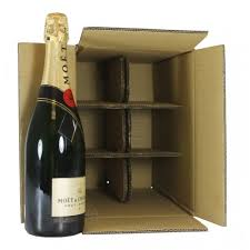 6 or 12 Bottle Boxes with Dividers