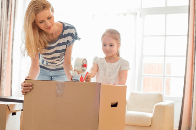 Moving House With Children in Sutton in Ashfield, Nottinghamshire