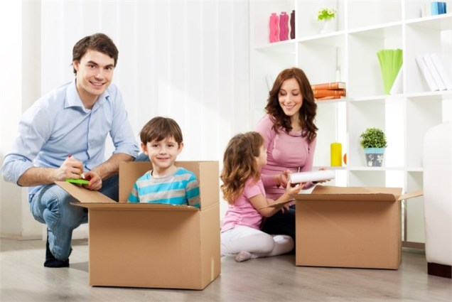 House Removals When Moving Home With Children