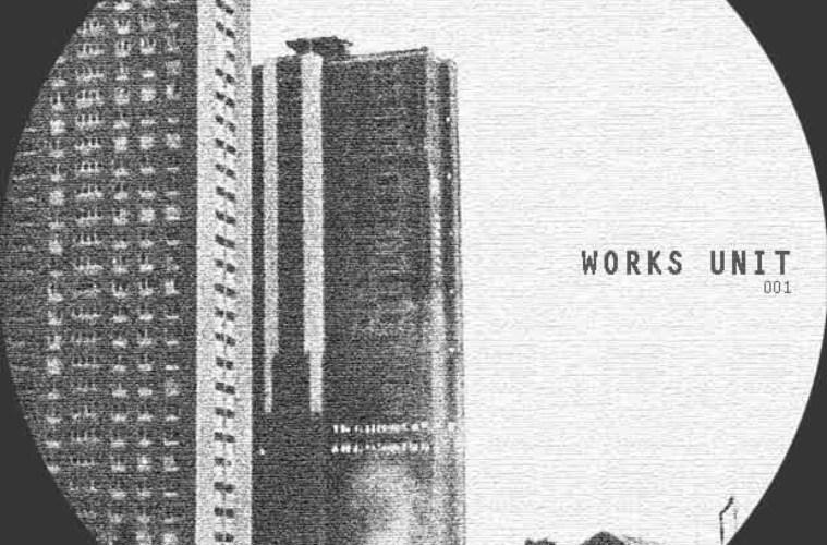 techno record art for WORKSUNIT001