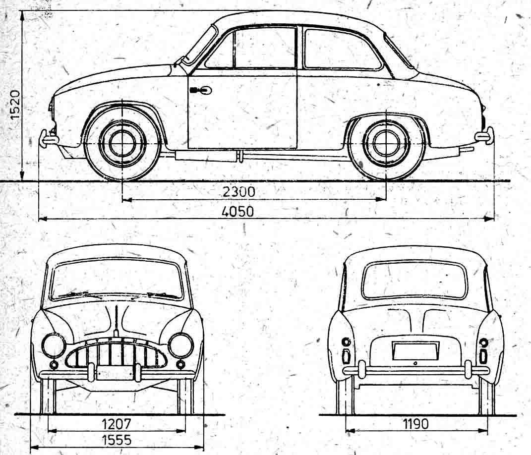 Auto Fso Syrena Prototyp Obrazek Obrazek Obrazek Obrazek