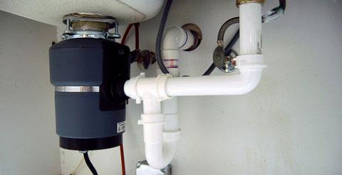 a garbage disposal installed