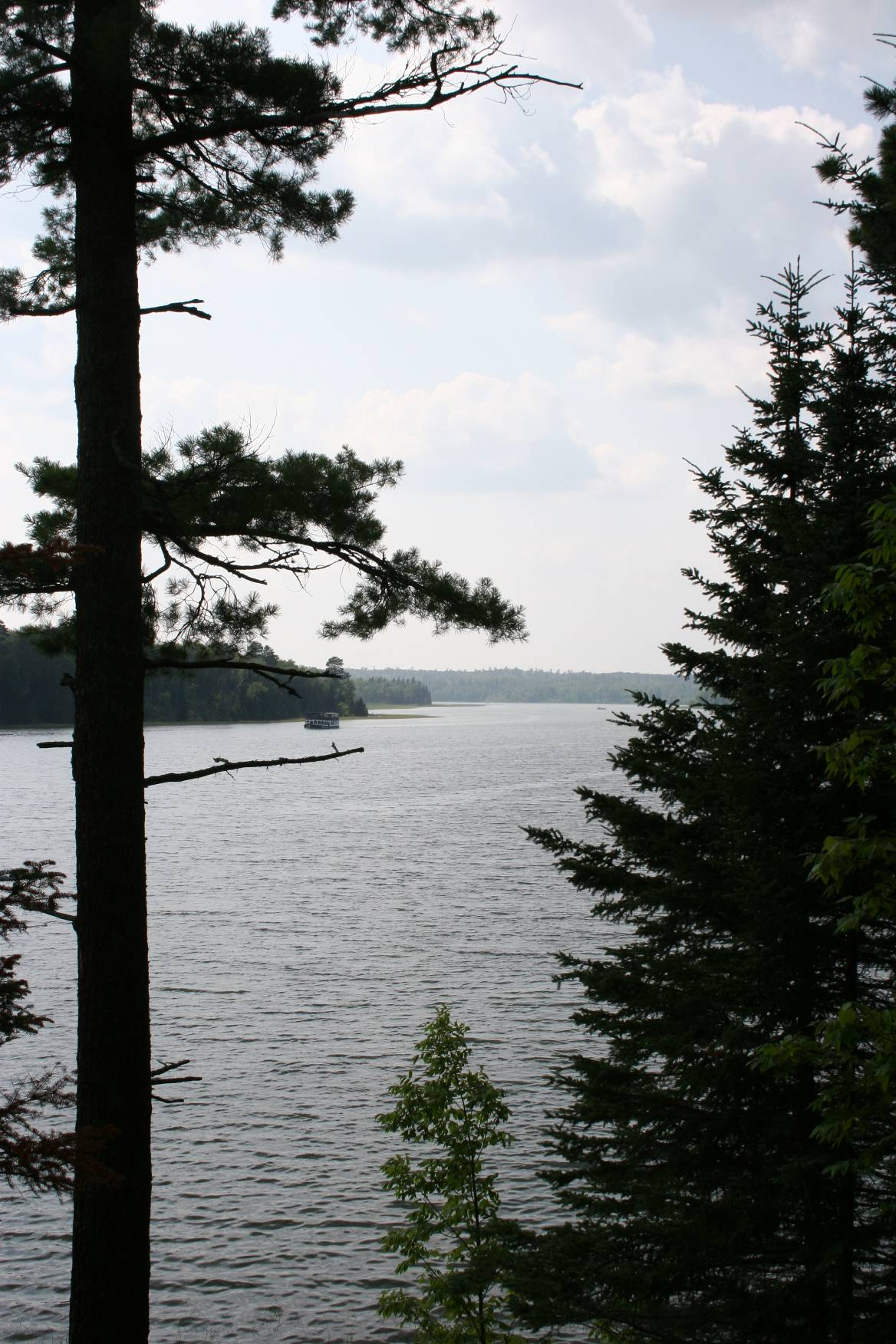 Scenic Peace Pipe Vista, where I heard my second loon.