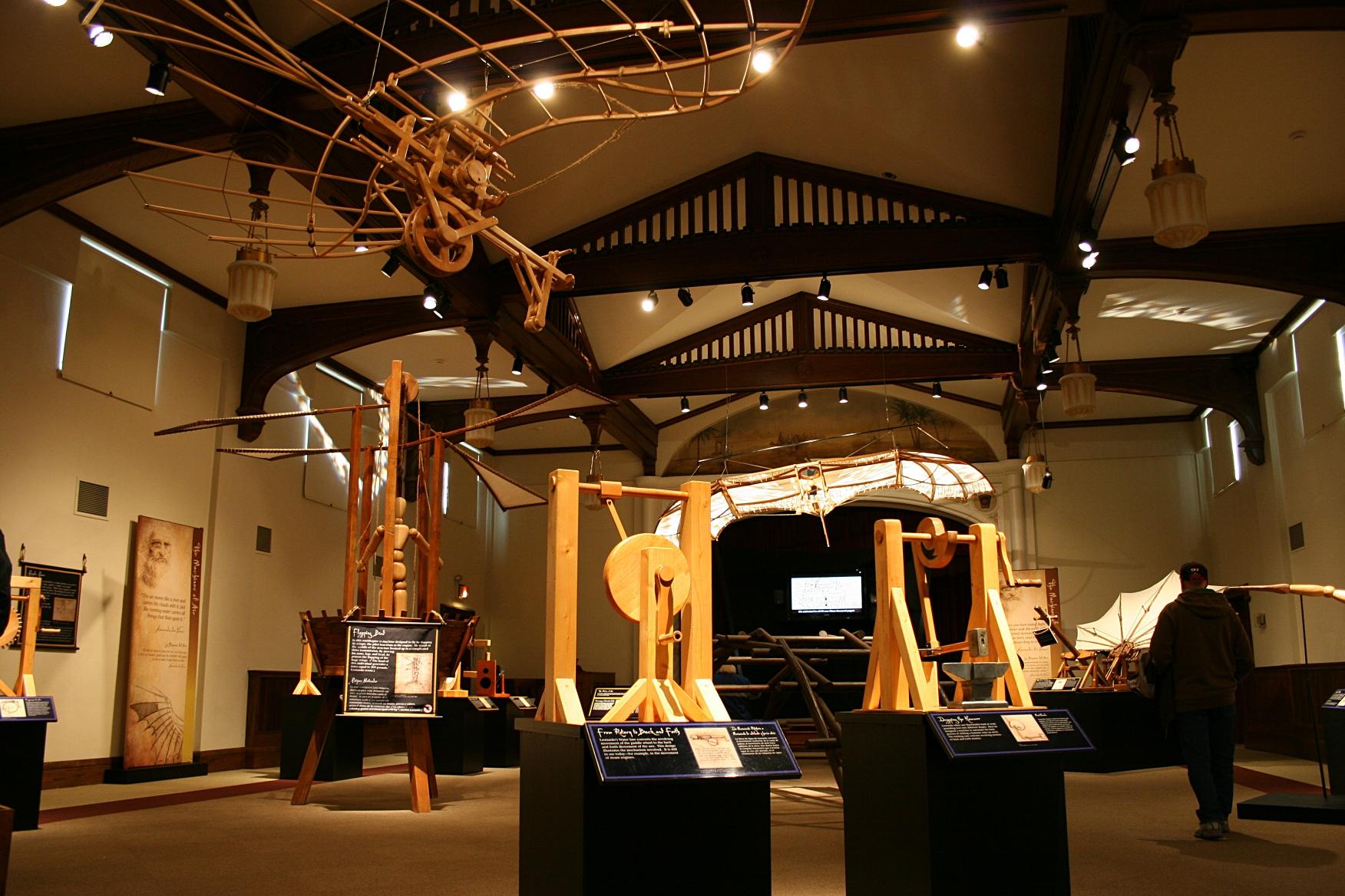 Wisconsin Exhibit Highlights Leonardo Da Vinci S Inventive