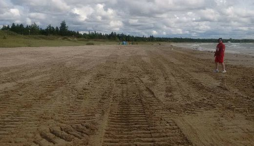 MNRF files charges, issues stop work order against South Bruce Peninsula regarding raking Sauble Beach