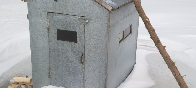 Anglers Encouraged to Plan Ahead Before Removing Their Ice Huts