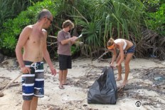 Logging the trash collected - JelliButz