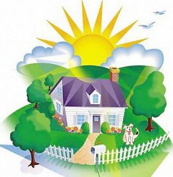 Image result for friendly neighbors clipart