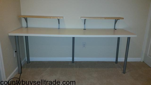 ikea table desk linnmon adils in springfield fairfax county virginia dade county buy sell trade