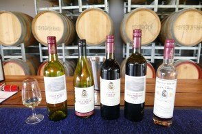 The Mount Pleasant wines we tasted today 3/2/2017