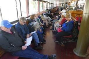 Singalong on board the TSS Earnshaw