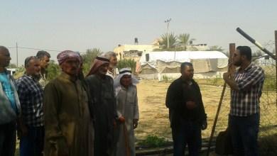 Photo of جولات ميدانية على المستفيدين من المشاريع الزراعية في خان يونس