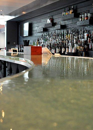 Glass Bar Countertop