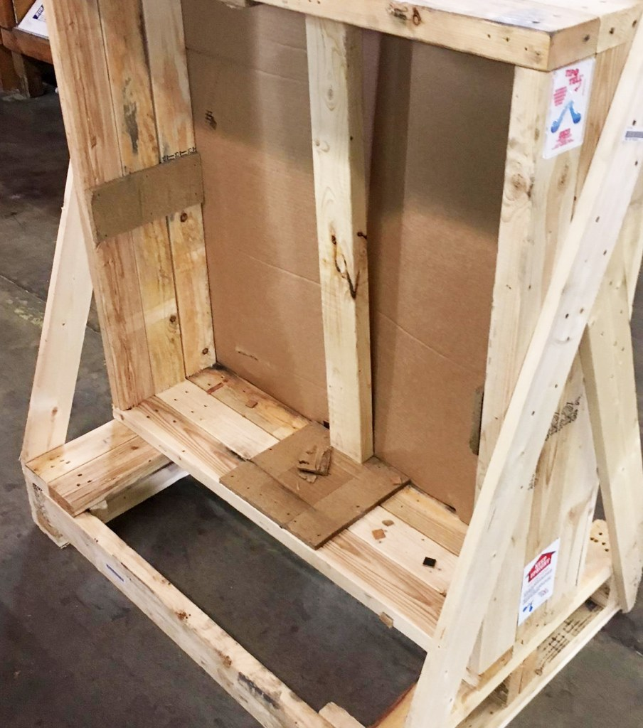 Moag Heavy Duty Wood Crate