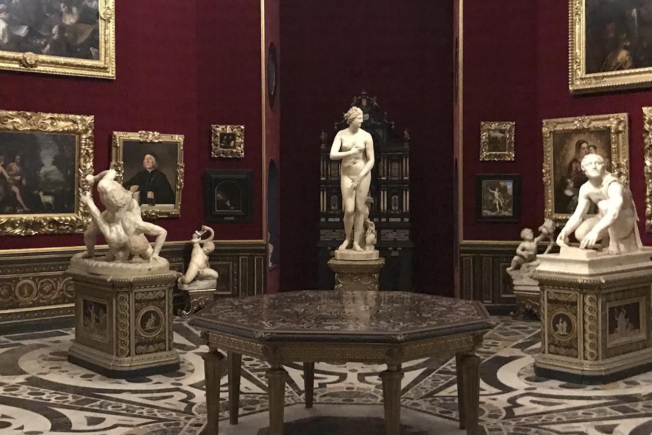 Sala de la Galería Uffizi