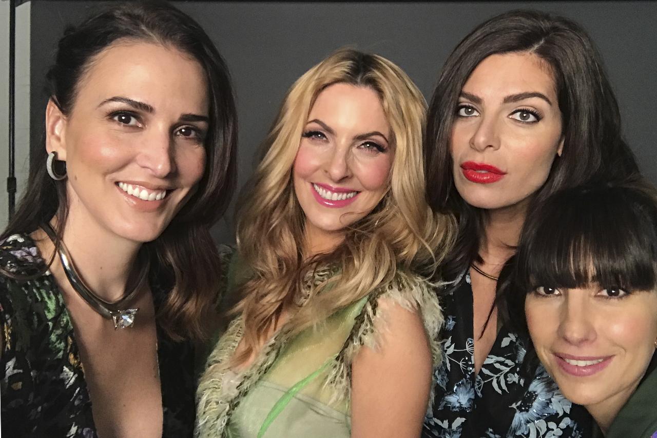 Mô, Marcela, Tania y Venus