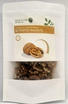 Walnuts NZ Grown Halves Freshly Activated Healthy Natural Crunchy 125 gram