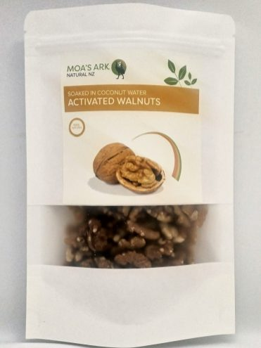 Activated Walnuts 125ml Front 1