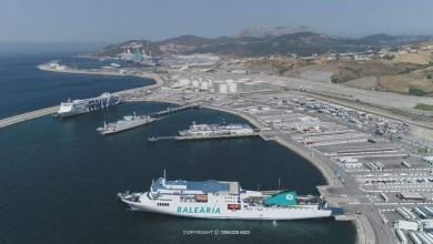 ولي العهد الأمير مولاي الحسن يزور ميناء طنجة المتوسط 4