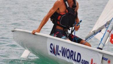 مغامر مغربي يعبر خليج تايلاند على متن قارب شراعي 5