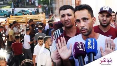 الحزن يخيم على منطقة بني مكادة وردود فعل غاضبة من طرف الساكنة بعد مقتل شاب في حادث  كريساج 4