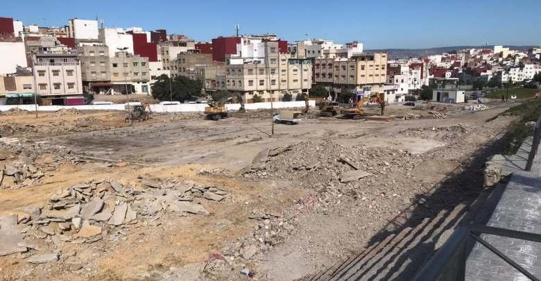 """ساحة سوق """"بئر الشفاء"""" تحتضن أكبر مشروع ترفيهي بمقاطعة بني مكادة 1"""