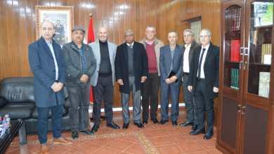 اجتماع رسمي لتفعيل اتفاقية شراكة بين إتحاد نقابات طنجة وكلية الآداب بتطوان 5