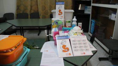 انطلاق عملية توزيع علب صحية للوقاية من كورونا بطنجة 4