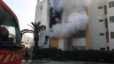 حريق مهول يأتي على شقة سكنية بطنجة 7