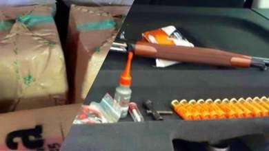 """توقيف 5 أشخاص متورطين في سرقة بندقية وحيازة أزيد من طنين من """"الحشيش"""" بطنجة وشفشاون 3"""