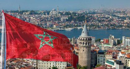سفارة المغرب بتركيا تقدم مساعدات لأسر مغربية بأنقرة 1